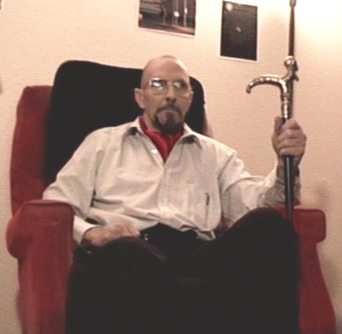 Neil Richard (Rick) Peterson, self portrait of a man